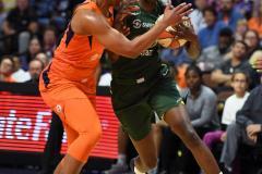WNBA - Connecticut Sun 81 vs. Seattle Storm 67 (37)