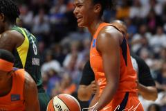 WNBA - Connecticut Sun 81 vs. Seattle Storm 67 (42)