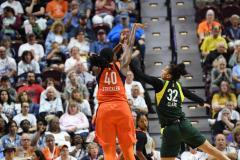 WNBA - Connecticut Sun 81 vs. Seattle Storm 67 (44)