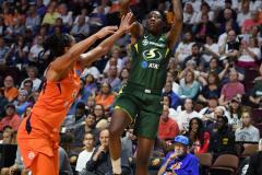 WNBA - Connecticut Sun 81 vs. Seattle Storm 67 (47)
