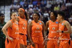 WNBA - Connecticut Sun 81 vs. Seattle Storm 67 (49)