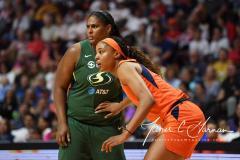 WNBA - Connecticut Sun 81 vs. Seattle Storm 67 (50)
