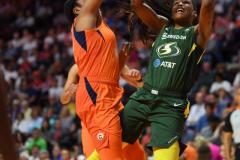 WNBA - Connecticut Sun 81 vs. Seattle Storm 67 (51)