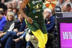 WNBA - Connecticut Sun 81 vs. Seattle Storm 67 (61)