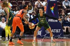 WNBA - Connecticut Sun 81 vs. Seattle Storm 67 (63)