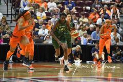 WNBA - Connecticut Sun 81 vs. Seattle Storm 67 (64)