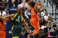 WNBA - Connecticut Sun 81 vs. Seattle Storm 67 (66)