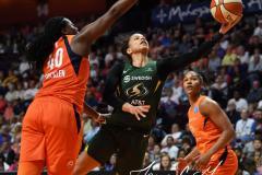 WNBA - Connecticut Sun 81 vs. Seattle Storm 67 (68)