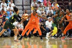 WNBA - Connecticut Sun 81 vs. Seattle Storm 67 (70)
