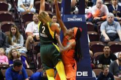 WNBA - Connecticut Sun 81 vs. Seattle Storm 67 (71)