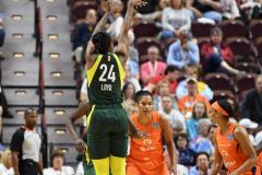 WNBA - Connecticut Sun 81 vs. Seattle Storm 67 (72)