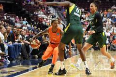 WNBA - Connecticut Sun 81 vs. Seattle Storm 67 (73)