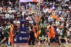 WNBA - Connecticut Sun 81 vs. Seattle Storm 67 (78)