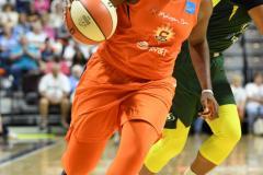 WNBA - Connecticut Sun 81 vs. Seattle Storm 67 (80)