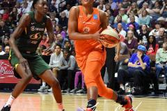 WNBA - Connecticut Sun 81 vs. Seattle Storm 67 (85)