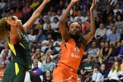 WNBA - Connecticut Sun 81 vs. Seattle Storm 67 (87)