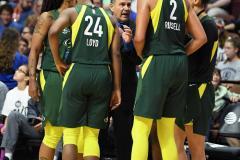 WNBA - Connecticut Sun 81 vs. Seattle Storm 67 (90)