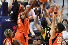 WNBA - Connecticut Sun 81 vs. Seattle Storm 67 (91)