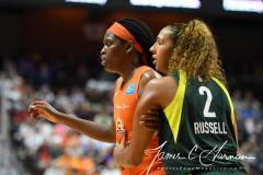 WNBA - Connecticut Sun 81 vs. Seattle Storm 67 (95)