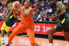 WNBA - Connecticut Sun 81 vs. Seattle Storm 67 (96)