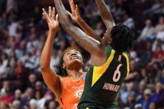 WNBA - Connecticut Sun 81 vs. Seattle Storm 67 (97)