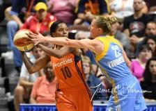 WNBA Connecticut Sun 83 vs. Chicago Sky 96 (31)