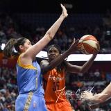 WNBA Connecticut Sun 83 vs. Chicago Sky 96 (68)