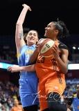 WNBA Connecticut Sun 83 vs. Chicago Sky 96 (78)