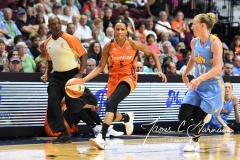 WNBA Connecticut Sun 83 vs. Chicago Sky 96 (85)