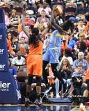 WNBA Connecticut Sun 83 vs. Chicago Sky 96 (87)