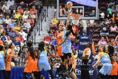 WNBA Connecticut Sun 83 vs. Chicago Sky 96 (88)