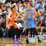 WNBA Connecticut Sun 83 vs. Chicago Sky 96 (89)
