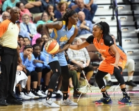 WNBA Connecticut Sun 83 vs. Chicago Sky 96 (90)