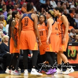 WNBA Connecticut Sun 83 vs. Chicago Sky 96 (96)