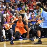 WNBA Connecticut Sun 83 vs. Chicago Sky 96 (99)