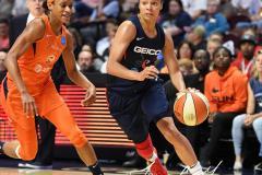 WNBA - Connecticut Sun 83 vs. Washington Mystics 75 (50)