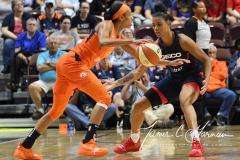 WNBA - Connecticut Sun 83 vs. Washington Mystics 75 (56)