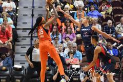 WNBA - Connecticut Sun 83 vs. Washington Mystics 75 (57)