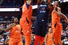 WNBA - Connecticut Sun 83 vs. Washington Mystics 75 (59)