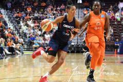 WNBA - Connecticut Sun 83 vs. Washington Mystics 75 (60)
