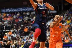 WNBA - Connecticut Sun 83 vs. Washington Mystics 75 (61)