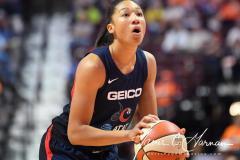 WNBA - Connecticut Sun 83 vs. Washington Mystics 75 (65)