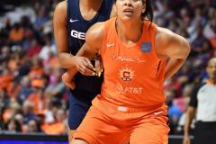WNBA - Connecticut Sun 83 vs. Washington Mystics 75 (66)