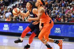 WNBA - Connecticut Sun 83 vs. Washington Mystics 75 (71)