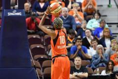 WNBA - Connecticut Sun 83 vs. Washington Mystics 75 (75)