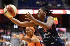 WNBA - Connecticut Sun 83 vs. Washington Mystics 75 (76)