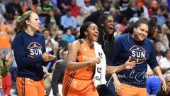 WNBA Connecticut Sun 84 vs. Seattle Storm 71 (100)