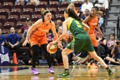 WNBA Connecticut Sun 84 vs. Seattle Storm 71 (103)