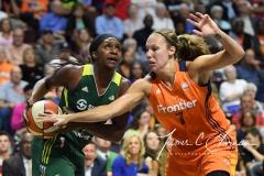 WNBA Connecticut Sun 84 vs. Seattle Storm 71 (49)