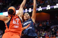WNBA - Connecticut Sun 84 vs. Washington Mystics 69 (43)
